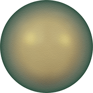 Swarovski Crystal Pearl 5810 - 4mm, Crystal Iridescent Green Pearl (001 930), 100pcs