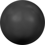 Swarovski Crystal Pearl 5809 - 1.5mm, Crystal Mystic Black Pearl (001 335), No Hole, 100pcs