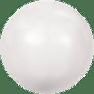Swarovski Crystal Pearl 5809 - 1.5mm, Crystal White Pearl (001 650), No Hole, 100pcs