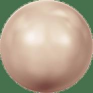 Swarovski Crystal Pearl 5809 - 1.5mm, Crystal Rose Gold Pearl (001 769), No Hole, 100pcs