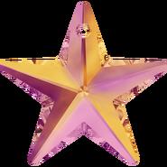Swar Crystal Pendant 6714 - 28mm, Crystal Astral Pink (001 API), 1pcs