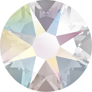 Swar Crystal Flatback 2088 - ss14, Crystal Aurore Boreale (001 AB) Foiled, No Hotfix, 48pcs