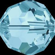 Swar Crystal Bead 5000 - 5mm, Aquamarine (223), 20pcs