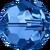 Swar Crystal Bead 5000 - 5mm, Capri Blue, 20pcs