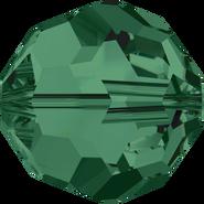 Swar Crystal Bead 5000 - 5mm, Emerald, 20pcs