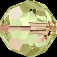 Swar Crystal Bead 5000 - 6mm, Crystal Luminous Green (001 LUMG), 20pcs