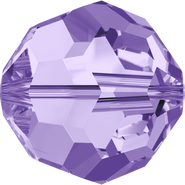 Swar Crystal Bead 5000 - 8mm, Tanzanite (539), 12pcs