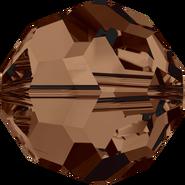 Swar Crystal Crystal Bead 5000 - 5mm, Smoked Topaz (220), 20pcs