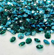 Swar Pendant 6428 - 6mm, Emerald Shimmer (205 SHIM),  20pcs