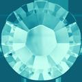 Swarovski Hotfix 2038 - ss10, Light Turquoise (263 Advanced), Hotfix, 48pcs