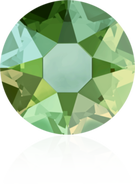 Swarovski Hotfix 2078 - ss16, Peridot Shimmer (214 SHIM), 36pcs