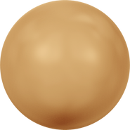 Swarovski Crystal Pearl 5810 - 6mm, Crystal Bright Gold Pearl (001 306), 500pcs