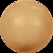 Swarovski Crystal Pearl 5810 - 8mm, Crystal Bright Gold Pearl (001 306), 250pcs