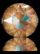 Swar Round Stone 1088 - ss29, Crystal Cappucino Delite , 12pcs
