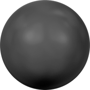 Swarovski Crystal Pearl 5810 - 4mm, Crystal Mystic Black Pearl (001 335), 500pcs