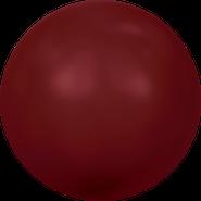 Swarovski Crystal Pearl 5810 - 8mm, Crystal Bordeaux Pearl (001 538), 250pcs