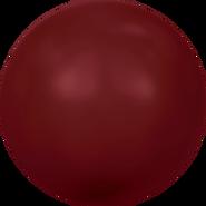 Swarovski Crystal Pearl 5810 - 12mm, Crystal Bordeaux Pearl (001 538), 100pcs