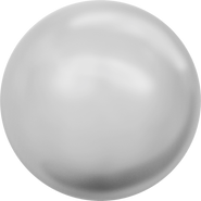 Swarovski Crystal Pearl 5810 - 6mm, Crystal Light Grey Pearl (001 616), 500pcs