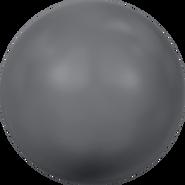 Swarovski Crystal Pearl 5810 - 8mm, Crystal Dark Grey Pearl (001 617), 250pcs