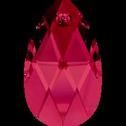 Swarovski Pendant 6106 - 16mm, Ruby (501), 144pcs