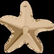 Swarovski Pendant 6721 - 20mm, Crystal Golden Shadow (001 GSHA), 30pcs