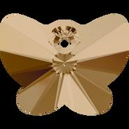 Swarovski Pendant 6754 - 18mm, Crystal Golden Shadow (001 GSHA), 72pcs