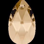 Swarovski Pendant 6106 - 22mm, Crystal Golden Shadow (001 GSHA), 96pcs