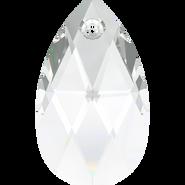 Swarovski Pendant 6106 - 50mm, Crystal (001), 6pcs