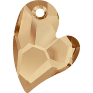 Swarovski Pendant 6261 - 17mm, Crystal Golden Shadow (001 GSHA), 48pcs