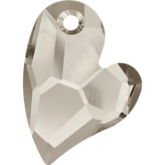 Swarovski Pendant 6261 - 17mm, Crystal Satin (001 SAT), 48pcs
