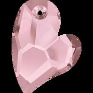 Swarovski Pendant 6261 - 17mm, Crystal Antique Pink (001 ANTP), 48pcs