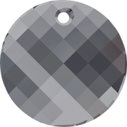 Swarovski Pendant 6621 - 28mm, Crystal Silver Night (001 SINI), 24pcs