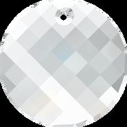 Swarovski Pendant 6621 - 28mm, Crystal (001), 24pcs