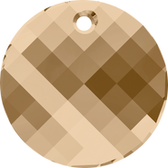Swarovski Pendant 6621 - 28mm, Crystal Golden Shadow (001 GSHA), 24pcs