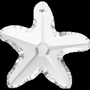 Swarovski Pendant 6721 - 40mm, Crystal (001), 6pcs