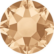 Swarovski Hotfix 2078 - ss30, Crystal Golden Shadow (001 GSHA Advanced), Hotfix, 288pcs