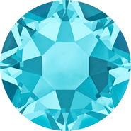 Swarovski Hotfix 2078 - ss12, Aquamarine (202 Advanced), Hotfix, 1440pcs