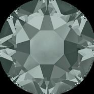 Swarovski Hotfix 2078 - ss30, Black Diamond (215 Advanced), Hotfix, 288pcs