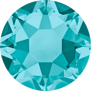 Swarovski Hotfix 2078 - ss12, Blue Zircon (229 Advanced), Hotfix, 1440pcs