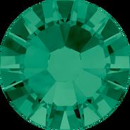 Swarovski Flatback 2058 - ss6, Emerald (205) Foiled, No Hotfix, 1440pcs