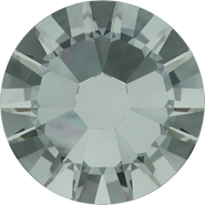 Swarovski Flatback 2058 - ss6, Black Diamond (215) Foiled, No Hotfix, 1440pcs