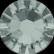 Swarovski Flatback 2058 - ss7, Black Diamond (215) Foiled, No Hotfix, 1440pcs