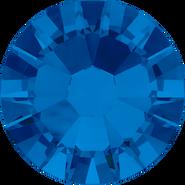 Swarovski Flatback 2058 - ss7, Capri Blue (243) Foiled, No Hotfix, 1440pcs