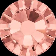 Swarovski Flatback 2058 - ss7, Blush Rose (257) Foiled, No Hotfix, 1440pcs