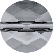 Swarovski Bead 5052 - 6mm, Crystal Silver Night (001 SINI), 288pcs