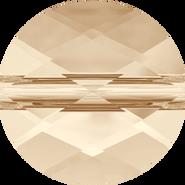 Swarovski Bead 5052 - 8mm, Light Silk (261), 144pcs