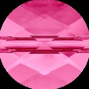 Swarovski Bead 5052 - 8mm, Rose (209), 144pcs
