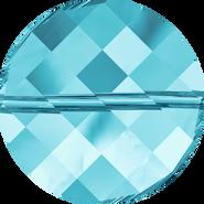 Swarovski Bead 5621 - 14mm, Aquamarine (202), 96pcs
