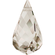 Swarovski Pendant 6020 - 18mm, Crystal Silver Shade (001 SSHA), 36pcs
