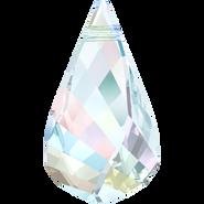 Swarovski Pendant 6020 - 30mm, Crystal Aurore Boreale (001 AB), 12pcs